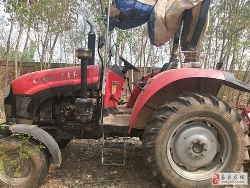东方红1000拖拉机 正在干活  着急卖价格可谈