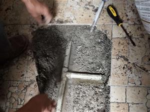 惠州家庭水管漏水检测 小面积开挖修漏位置