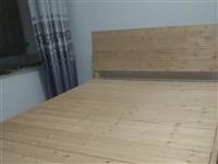 纯实木床无油漆健康单人床双人大床(另有书桌低价处理)