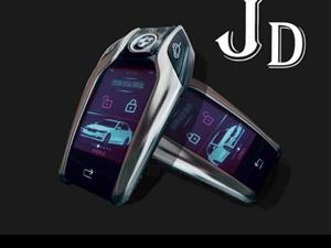捷達智能液晶車鑰匙,未來市場的領先者