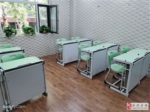 出售托管班学生课桌椅,课桌能轻松变午休床