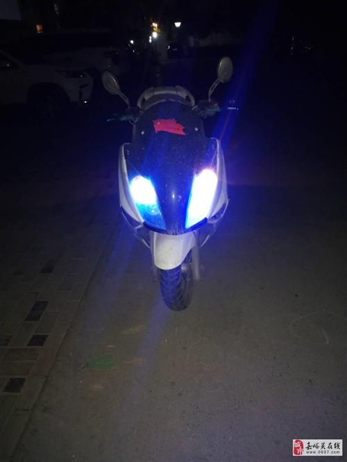 卖踏板摩托车