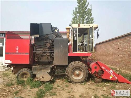 正在干活的玉米收割机改行急售诚心要价格可议