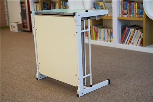 学生课桌椅,单人折叠课桌椅,托管辅导班课桌