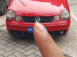 出售红色的大众POLO私家车