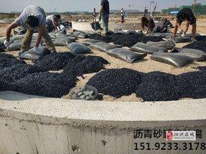 山西朔州沥青砂进行罐底基础防腐