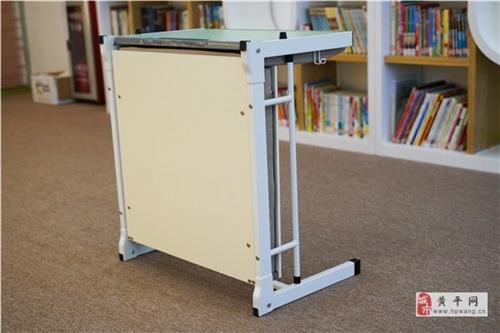 学生一体课桌椅,单人折叠课桌,省时省力省空间
