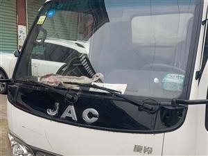 JAC箱式货车用不到了对外出售16年10月份的车跑了3万多公里