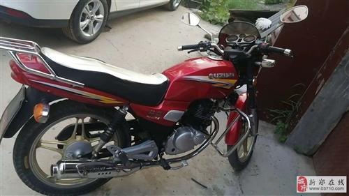 转让一辆成色八九成新闲置钻豹摩托车
