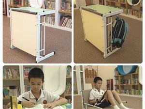 托管班学生午休床,可变成学生课桌,学习休息两用