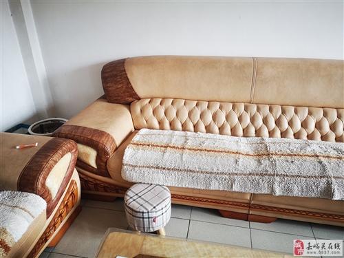 二手沙发、电视柜、茶几