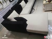 出售7成新布艺沙发一套