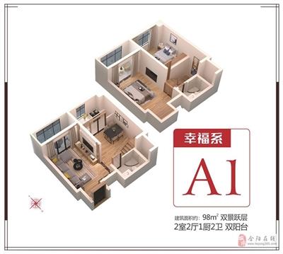 98�O两室两厅一卫