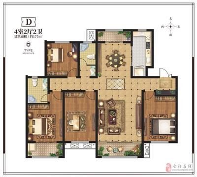 177�O四室两厅两卫