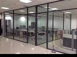 青州办公隔断,玻璃隔断定做安装