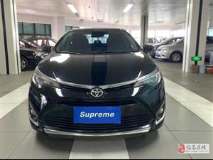 丰田 雷凌 2017款 改款 185T CVT精英版