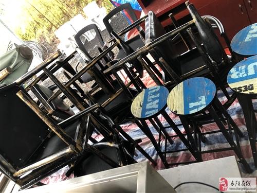 长阳二手建材市场】新到货源:桌椅板凳,天然气烤火炉