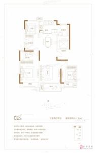 3室2厅2卫1厨130m2