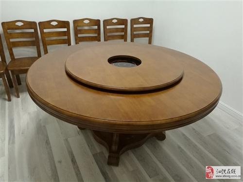 实木带电磁炉火锅桌椅转让