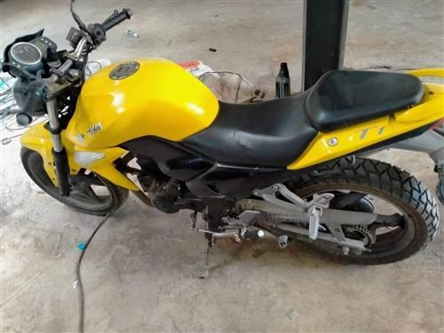 出售一台三洋T1摩托车