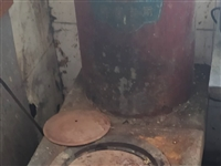 旧取暖炉(改造退下的150-260平的玉婷炉)