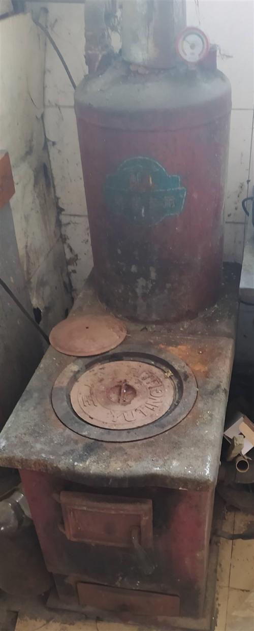 舊取暖爐(改造退下的150-260平的玉婷爐)