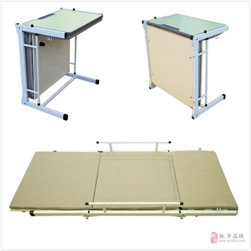 托管辅导班专用学生课桌,一桌两用,轻松变床