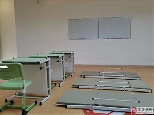 出托管班学生课桌椅 课桌原地变床 教室与休息室轻