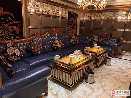 KTV九成新沙发和茶几低价处理
