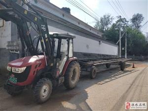 出租99新拖排拖拉机带液压臂