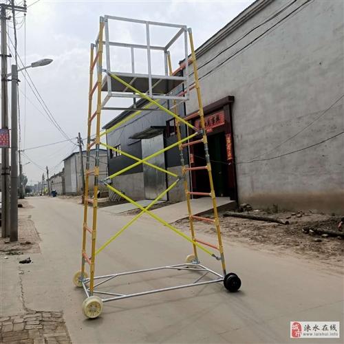 铁路接触网检修网专用绝缘梯车玻璃钢厂家铁路平台车