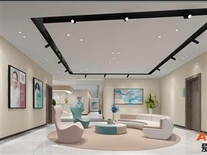 重庆医美整形装修,美容院装潢设计,医学美容中心装修