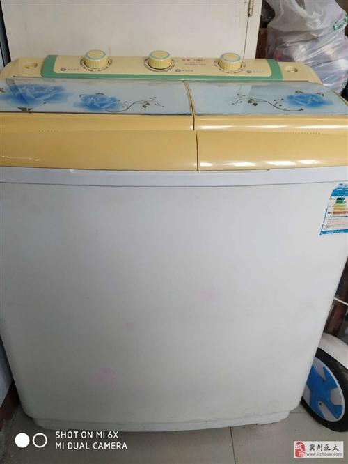 出售8成新二手洗衣机2台,价格美丽