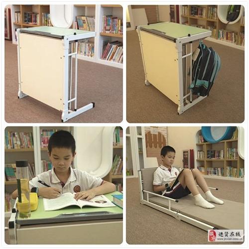 新型学生午睡床,床与桌自由切换,适合托辅机构