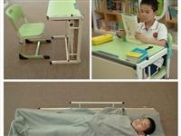 轻松变身免搬运,桌床一体课桌,解放老师劳动力