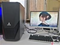 电脑台式机12核心9成新高配电脑,设计网游游戏主机,原用作制图设计渲染,高清滤蓝光护眼ips显示器,...
