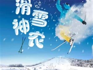 神农架国际滑雪两日游,报名有惊喜