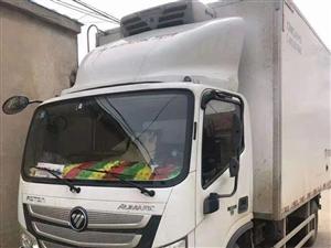 出售福田欧马可,跑了八个月,六万公里,冷机冷王580,山东中集大箱