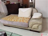 出售布艺沙发一套