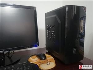 出售九成新自用固态硬盘台式电脑枝江城区(可单买主机)