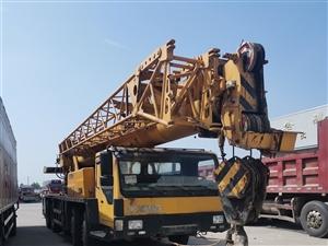 求购二手徐工中联吊车20吨25吨50吨的