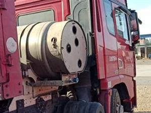 德龙x3000烧气车,17年主挂,大开门,手续全,