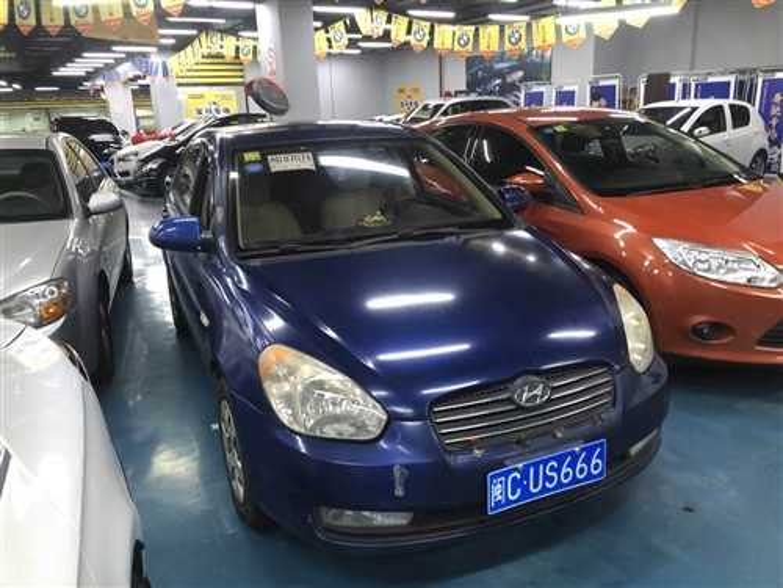 連車牌一起賣5萬,現代雅紳特1.4L