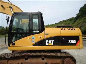 卡特挖机320D