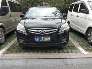 出售私家车现代悦动