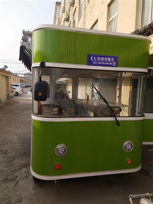新电动餐车