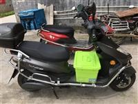 跑外卖用的电动车,五组32安大电瓶!买了3个多月!骑乘6000公里