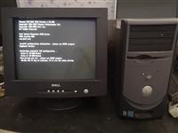 戴尔电脑一套 cqt显示器 收藏珍品