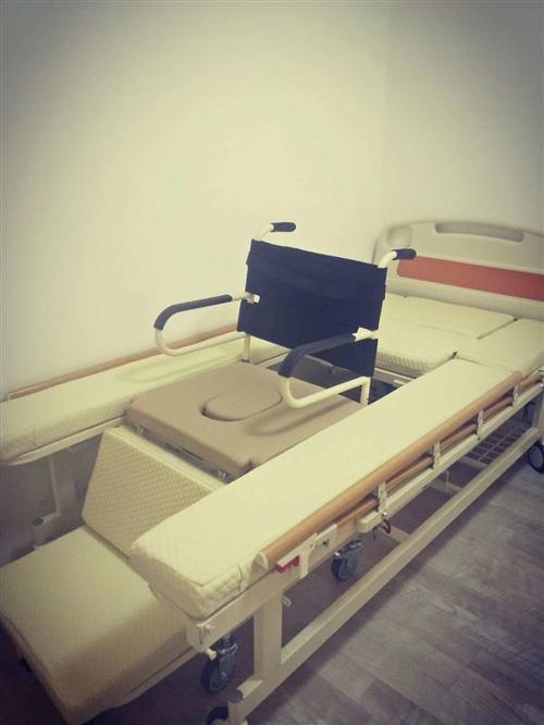 带轮椅的护理床,用了十天,便宜卖了!