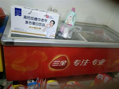 低价出售九成新制冷大冰柜长2米